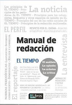 portada Manual de Redaccion el Tiempo