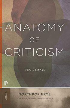 portada Anatomy of Criticism: Four Essays (Princeton Classics) (libro en Inglés)