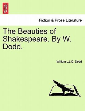 portada the beauties of shakespeare. by w. dodd.
