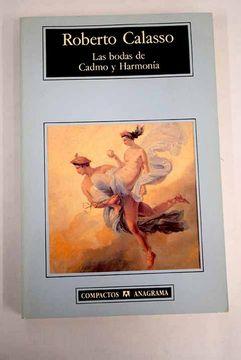 portada Las bodas de Cadmo y Harmonía