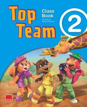 portada Top Team 2 2º Educacion Primaria st ed 2014 mec (libro en Inglés)