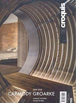 portada El Croquis 195: Carmody Groarke (2009-2018) Mortal Bodies (libro en Inglés)