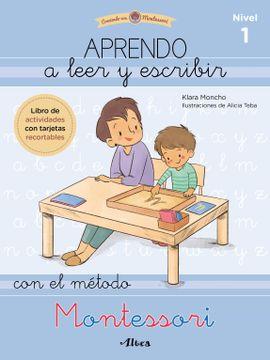 portada Aprendo a Leer y Escribir con el Método Montessori 1: Un Cuaderno Práctico