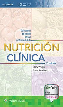 portada Guía Básica de Bolsillo Para el Profesional de la Nutrición Clínica