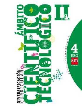 portada Diversificación Curricular, Ámbito Científico Tecnológico ii. 4 Eso. Conecta 2. 0