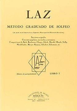 portada Laz - Libro i: Método Graduado de Solfeo