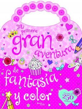 portada Mi Primera Gran Aventura de Fantasía y Color