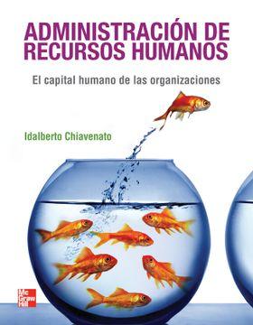 portada Administracion de Recursos Humanos el Capital Humano de  las Organizaciones [9 Edicion]