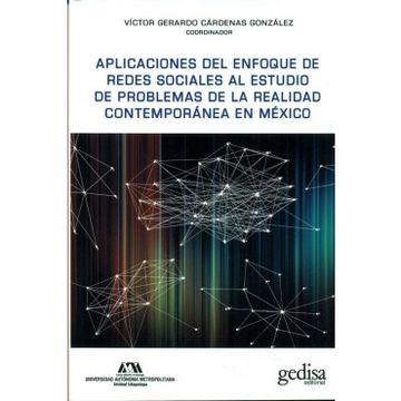 portada Aplicaciones Del Enfoque De Redes Sociales Al Estudio De Problemas De La Realidad Contemporanea En Mexico