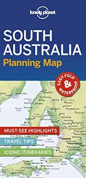 portada Lonely Planet South Australia Planning map (libro en Inglés)