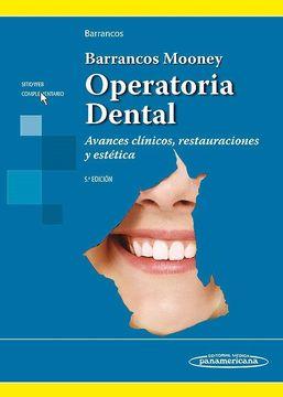 portada Barrancos Mooney. Operatoria Dental. Avances Clínicos, Restauraciones y Estética