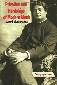 portada Privation and  Hardships  of Modern Monk -Swami Vivekananda