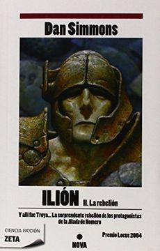 portada Ilion ii. La Rebelion: Parte de Obra Completa. Vol. 2 (Best Seller Zeta Bolsillo)
