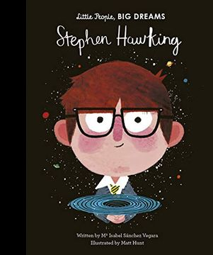 portada Stephen Hawking (Little People, big Dreams) (libro en inglés)