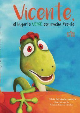 portada Vicente, el Lagarto Verde con Mucha Frente