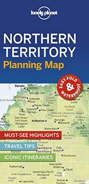 portada Lonely Planet Northern Territory Planning map (libro en Inglés)