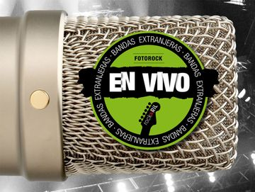 portada Fotorock en Vivo. Bandas Extranjeras iii Verde