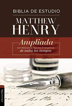 portada Rvr Biblia de Estudio Matthew Henry, Tapa Dura