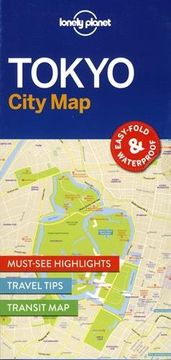 portada Lonely Planet Tokyo City Map (Travel Guide)