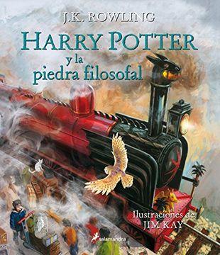 portada HARRY POTTER Y LA PIEDRA FILOSOFAL (ILUSTRADO)
