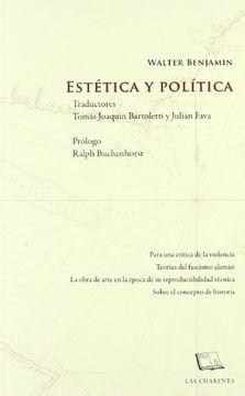 portada Estetica y Politica