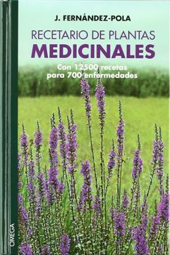 portada Recetario de Plantas Medicinales