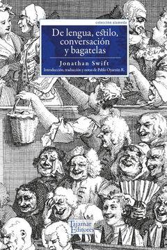 portada De Lengua, Estilo, Conversacion y Bagatelas