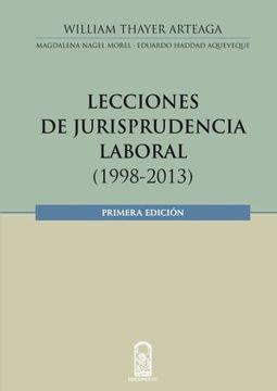 portada Lecciones de Jurisprudencia Laboral 1998-2013