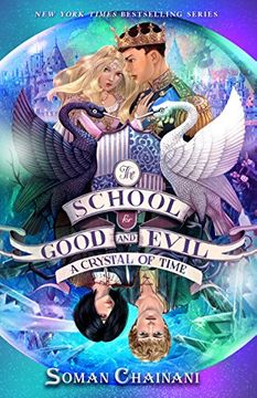 portada The School for Good and Evil #5: A Crystal of Time (libro en Inglés)