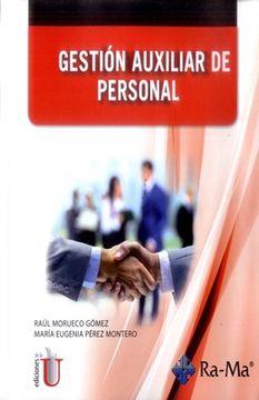 portada Gestion Auxiliar de Personal