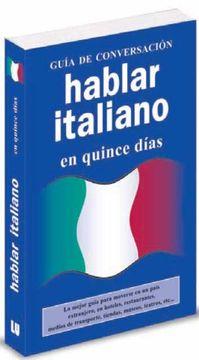 portada Hablar Italiano en Quince Días. Guía de Conversación