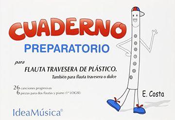 portada Cuaderno Preparatorio Para Flauta de Plástico