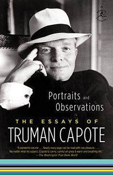 portada Portraits and Observations: The Essays of Truman Capote (Modern Library Classics (Paperback)) (libro en Inglés)