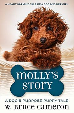 portada Molly's Story: A Dog's Purpose Puppy Tale (libro en Inglés)