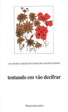 portada Tentando em vão decifrar (libro en Portugués)