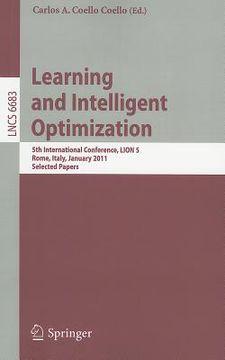 portada learning and intelligent optimization