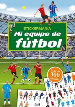 portada Mi Equipo de Futbol Stickermania