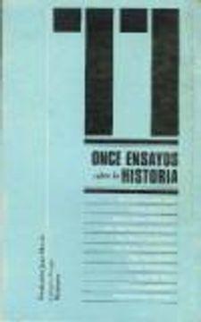 portada ONCE ENSAYOS SOBRE LA HISTORIA
