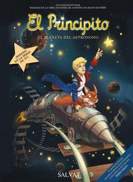 portada El Principito, 5. El Planeta del Astrónomo (Castellano - Salvat - Comic - a. De Saint-Exupéry)