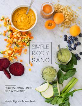 portada Simple, Rico y Sano
