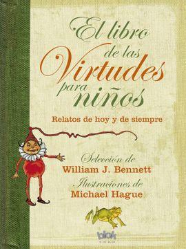 portada El Libro de las Virtudes Para Niños