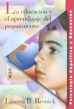 portada Educación y el Aprendizaje del Pensamiento, la