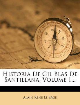 portada historia de gil blas de santillana, volume 1...