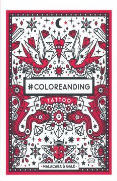 portada #Coloreanding. Tattoo