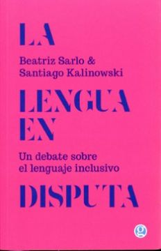 portada La Lengua en Disputa