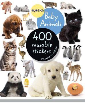 portada eyelike stickers: baby animals