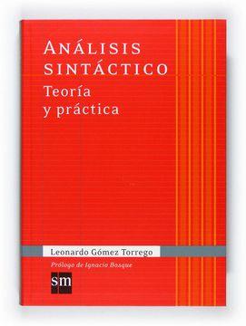 portada Análisis Sintáctico: Teoría y Práctica