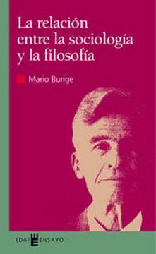 portada Relación Entre La Sociología Y La Filosofía (Ensayo)