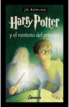 portada Harry Potter y el Misterio del Príncipe
