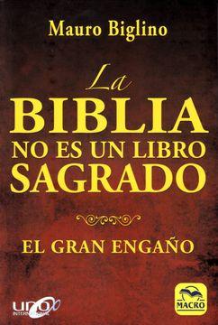 portada La Biblia no es un Libro Sagrado